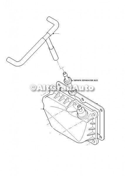 Supapa De Aerisire Separator Ulei Plastic Ford Focus 1 1 4 16v 75