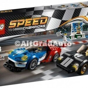 Lego Ford GT an 2016 si Ford GT 40 an 1966 Ford