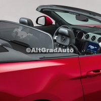 Deflector vant, model Convertible Ford Mustang 2.3 EcoBoost