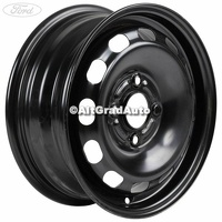 Janta tabla 14 inch negru Ford Ka Plus 1.19 Ti